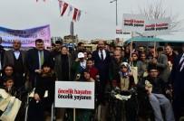 ABDULLAH ERIN - Şanlıurfa'da 'Öncelik Hayatın, Öncelik Yayanın' Eylemi