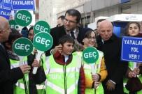 KIRMIZI IŞIK - 'Yaya Öncelikli Trafik' Uygulaması Yapıldı