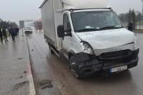 HIKMET ŞAHIN - 20 Dakika Önce Aldığı Araba Hurdaya Döndü