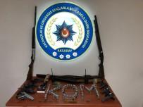 RUHSATSIZ SİLAH - Aksaray'da Polis Ve Jandarmadan Silah Operasyonu