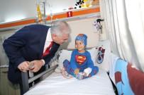 DENGESİZ BESLENME - Binali Yıldırım, Kanser Hastası Çocuklarla Ziyaret Etti