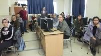 Burhaniye'de Bilgisayar Kursu İlgi Gördü
