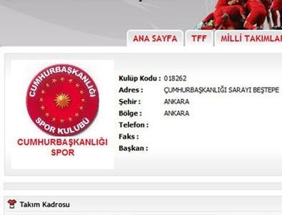 'Cumhurbaşkanlığı Spor Kulübü Kuruldu' iddialarına cevap