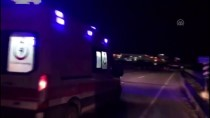 Edirne'de Trafik Kazası Açıklaması 1 Yaralı