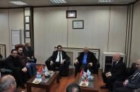 İŞBİRLİĞİ PROTOKOLÜ - ETB Başkanı Oral'a Dört Önemli Ziyaret