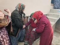 Evi Yanan 93 Yaşındaki Nazire Ninenin Gözyaşları