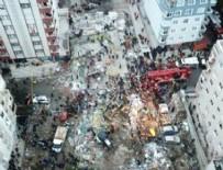Kartal'da binanın çökme nedeni!