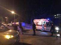 DİKKATSİZLİK - Kuşadası'nda Trafik Kazası; 1 Yaralı