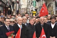 ORTAHISAR - AK Parti Ve MHP Teşkilatları Cumhur İttifakı İçin Trabzon'da Birlikte Yürüdü