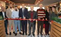 FIRINCILAR - Başkan Berge'den Kafe Açılışı