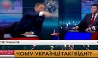 UKRAYNA - Canlı Yayında Ukrayna Başkan Adayının Yüzüne Su Fırlattı