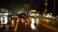 YAĞAN - D-655 Karayolunda 3 Araç Birbirine Girdi Açıklaması 1 Yaralı