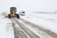 Elazığ'da Kar Nedeniyle 98 Köy Yolu Ulaşıma Kapalı