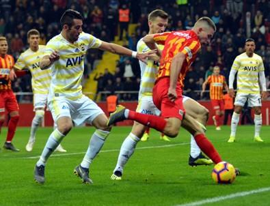Fenerbahçe Kayseri'den eli boş döndü