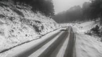 Kazdağları'nda Kar Yağışı Etkili Oluyor