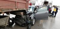 Antalya'da Trafik Kazası Açıklaması 1 Ölü, 4 Yaralı