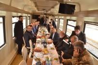 Bakan Ersoy'un Erzincan'daki Tren Yolculuğu