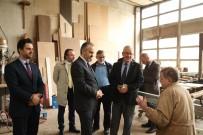ALINUR AKTAŞ - Bursa'da Yüzlerce Yıllık Sanatı Yaşatan Ustaya Aktaş'tan Ziyaret