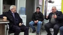 TAKSİ DURAĞI - CHP Nilüfer Belediye Başkan Adayı Erdem Taksi Şoförlüğü Yaptı