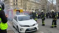 EMMANUEL MACRON - Fransa'da Sarı Yelekliler Eylemi 13. Haftasında