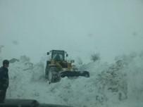 YAĞAN - Hakkari'de Karla Mücadele Çalışmaları Devam Ediyor