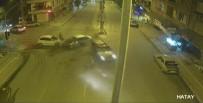 DİKKATSİZLİK - Hatay'da Trafik Kazaları Kamerada