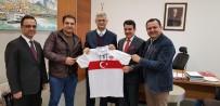 DİSİPLİN KURULU - Karakan Ve Kaplan Büyükelçi Hızlan'ı Ziyaret Etti