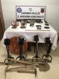 TARİHİ ESER KAÇAKÇILIĞI - Karaman'da Tarihi Eser Operasyonu Açıklaması 6 Gözaltı