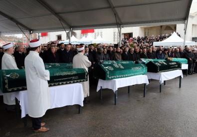 Kartal'da hayatını kaybeden Alemdar ailesi üyeleri son yolculuğuna uğurlandı