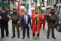 ALTUNTAŞ - Mehter Takımı Eşliğinde Adaylığını Tanıttı
