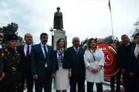 HÜSEYIN SÖZLÜ - MHP'nin 50. Kuruluş Yıldönümü Dolayısıyla Atatürk Parkı'nda Çelenk Sunuldu