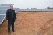 Girişimci Muhtar Köyüne Güneş Enerjisi Sistemi Kurdurdu