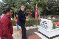 ERMENEK - Türkiye'nin İlk Kadın Şehit Pilotu Şehitlikte Anıldı