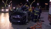 Uşak'ta Feci Kaza Açıklaması 1'İ Ağır 3 Yaralı
