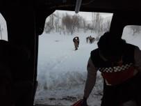 78 Yaşındaki Hasta Askeri Helikopterle Kurtarıldı