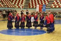 Ağrı'da Kulüpler Arası Halk Oyunları İl Birinciliği Yarışması Yapıldı