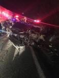 Artvin'de Özel Harekat Polislerini Taşıyan Araç TIR'la Çarpıştı Açıklaması 6 Yaralı