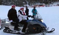 Bakan Varank, Sarıkamış'ta Kar Motoru Kullandı