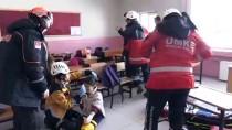 Bitlis'te Deprem Tatbikatı
