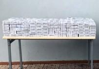 CEYLANPINAR - Ceylanpınar'da 9 Bin 300 Paket Kaçak Sigara Ele Geçirildi