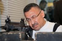 Cumhurbaşkanı Yardımcısı Oktay, Yerli Silahla Atış Yaptı