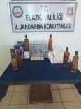 Elazığ'da Kaçak İçki Ve Sigara Ele Geçirildi