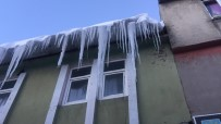 Kar Ve Tipi Sonrası Karlıova Buz Tuttu