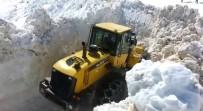 Sincik'te Kar Kalınlığı 4 Metreye Ulaştı