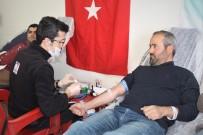 PEYAMİ BATTAL - Van YYÜ Personelinden Kan Bağışı