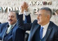 Veysel Eroğlu, Aydın Büyükşehir Adayı Savaş'a Destek Verdi