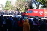 Yalova İtfaiyesinden Öğrencilere Yangın Güvenlik Tatbikatı