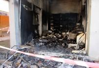 Beşikdüzü'ndeki Yangının Gaz Sıkışmasından Kaynaklanan Cam Patlaması Olduğu Açıklandı