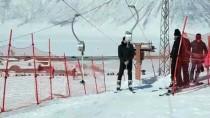 Bitlis'te Kayak Tesisinde Hafta Sonu Yoğunluğu