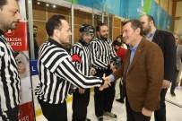 FEDERASYON BAŞKANI - Buz Hokeyi Erkeklerde Şampiyon Zeytinburnu Belediyesi Spor Kulübü Oldu